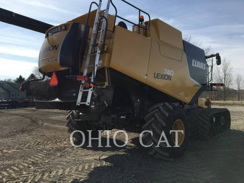 CLAAS OF AMERICA COMBINADOS LEX740TT equipment  photo 3