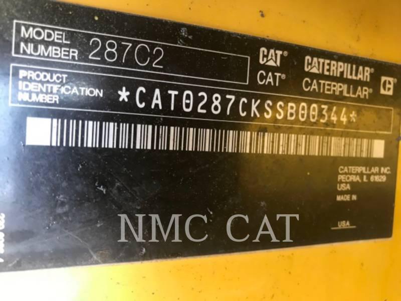 CATERPILLAR CARGADORES MULTITERRENO 287C2 equipment  photo 6