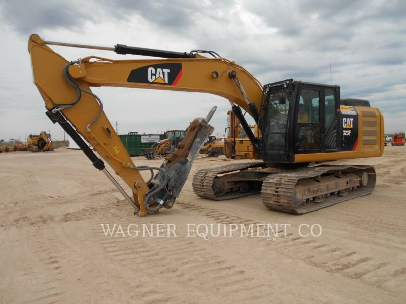CATERPILLAR EXCAVADORAS DE CADENAS 323FL HMR equipment  photo 1