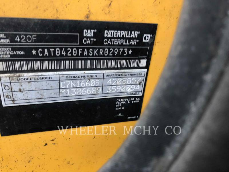 CATERPILLAR TERNE 420F E equipment  photo 6