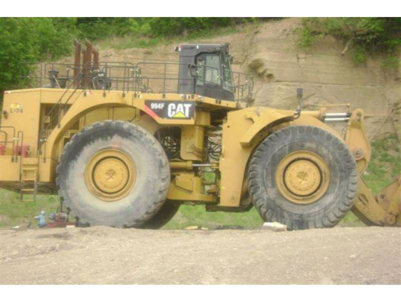 CATERPILLAR RADLADER/INDUSTRIE-RADLADER 994F equipment  photo 4