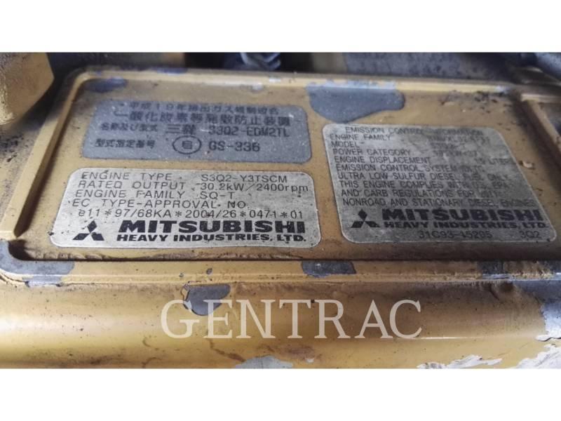 CATERPILLAR KETTEN-HYDRAULIKBAGGER 304DCR equipment  photo 18
