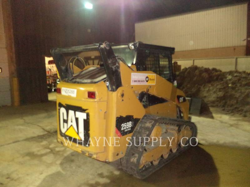 CATERPILLAR CARGADORES MULTITERRENO 259B3 CAB equipment  photo 1