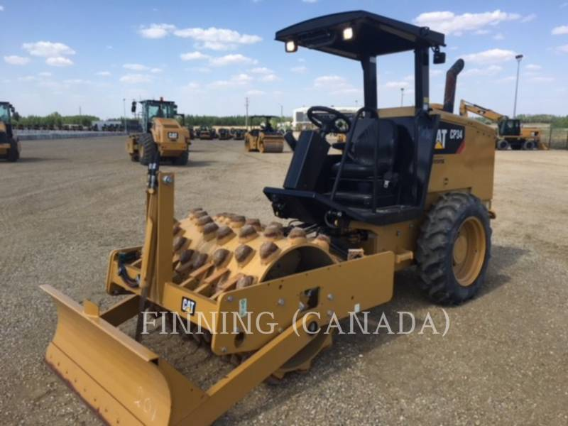 CATERPILLAR COMPACTEUR VIBRANT, MONOCYLINDRE À PIEDS DAMEURS CP34 equipment  photo 2