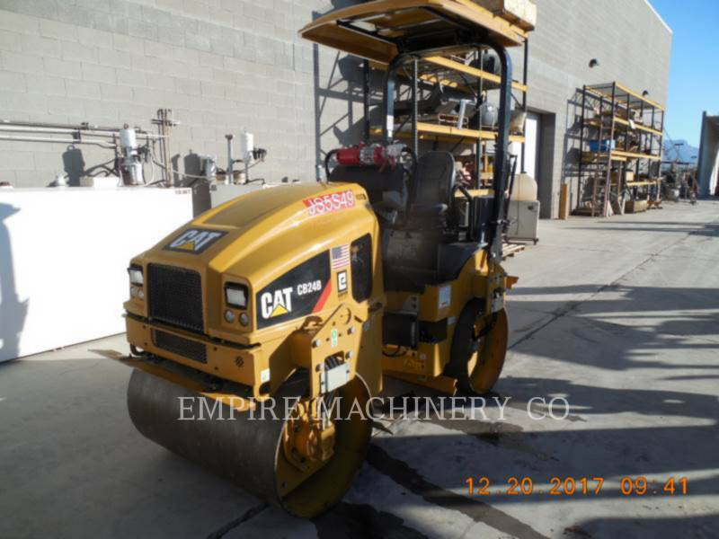 CATERPILLAR TANDEMOWY WALEC WIBRACYJNY DO ASFALTU (STAL-STAL) CB24B equipment  photo 4