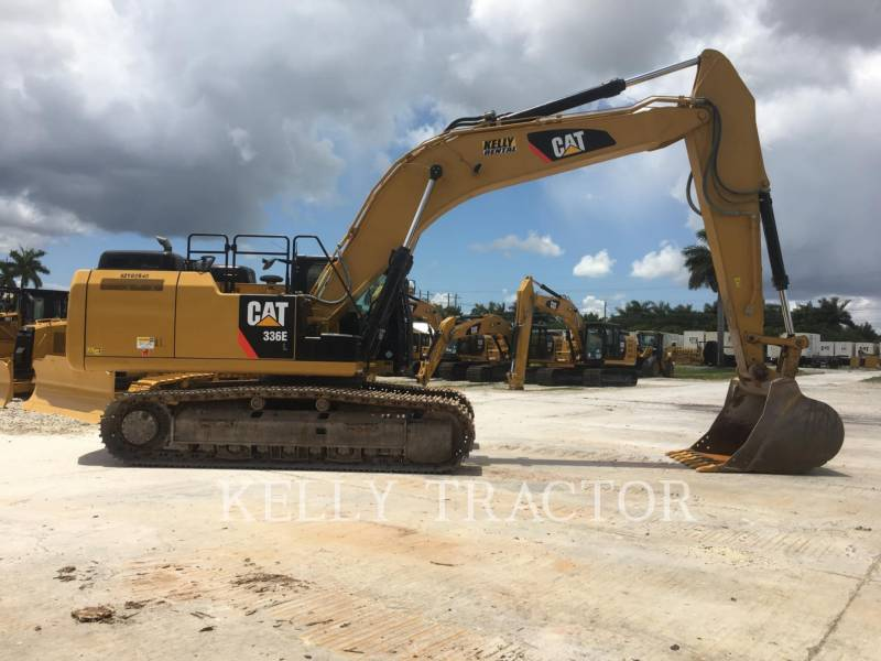 CATERPILLAR KETTEN-HYDRAULIKBAGGER 336EL equipment  photo 6