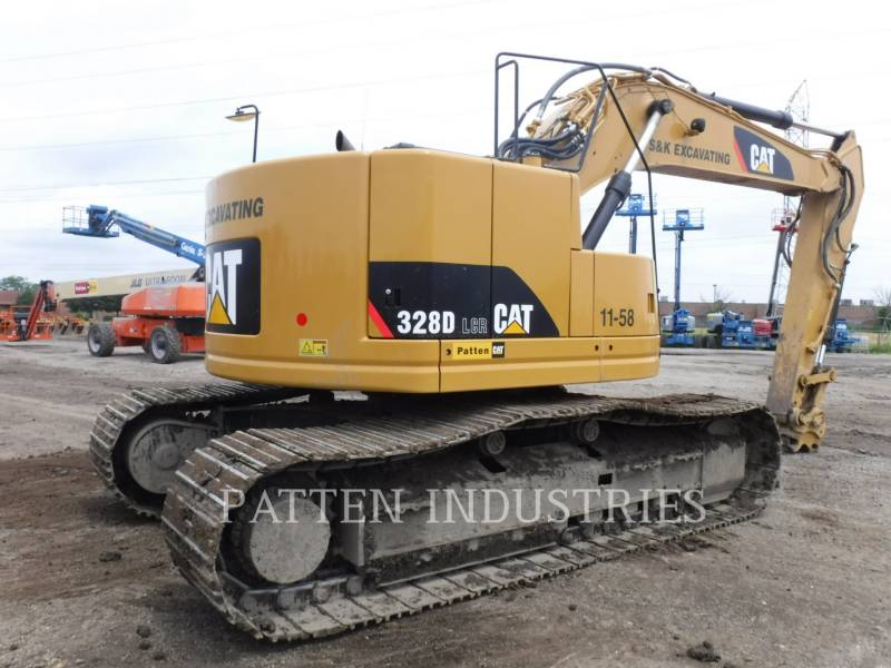 CATERPILLAR TRACK EXCAVATORS 328DL HMR equipment  photo 4