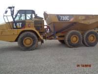 CATERPILLAR KNICKGELENKTE MULDENKIPPER 730C equipment  photo 2