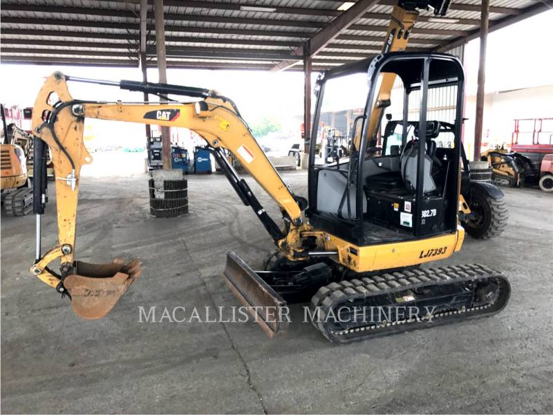 CATERPILLAR KETTEN-HYDRAULIKBAGGER 302.7D equipment  photo 1