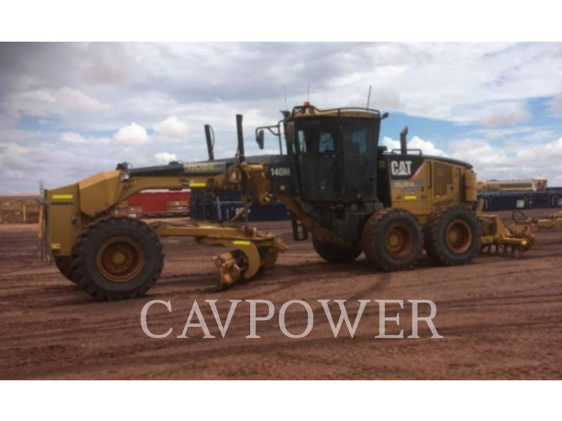 CATERPILLAR NIVELEUSES POUR MINES 140M equipment  photo 1