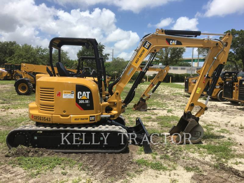 CATERPILLAR TRACK EXCAVATORS 305.5E2 CR equipment  photo 2
