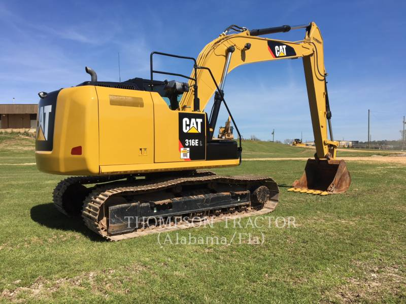 CATERPILLAR トラック油圧ショベル 316EL equipment  photo 5