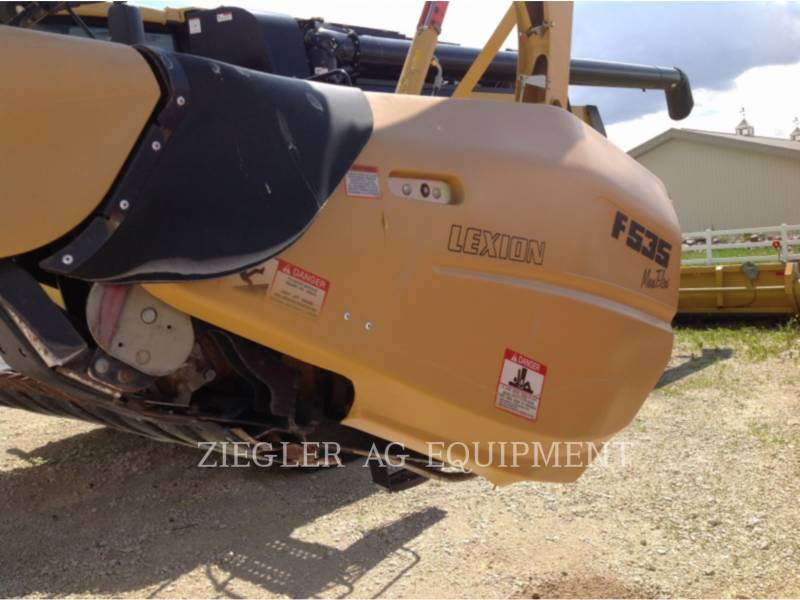 LEXION COMBINE HEADERS F535 equipment  photo 6