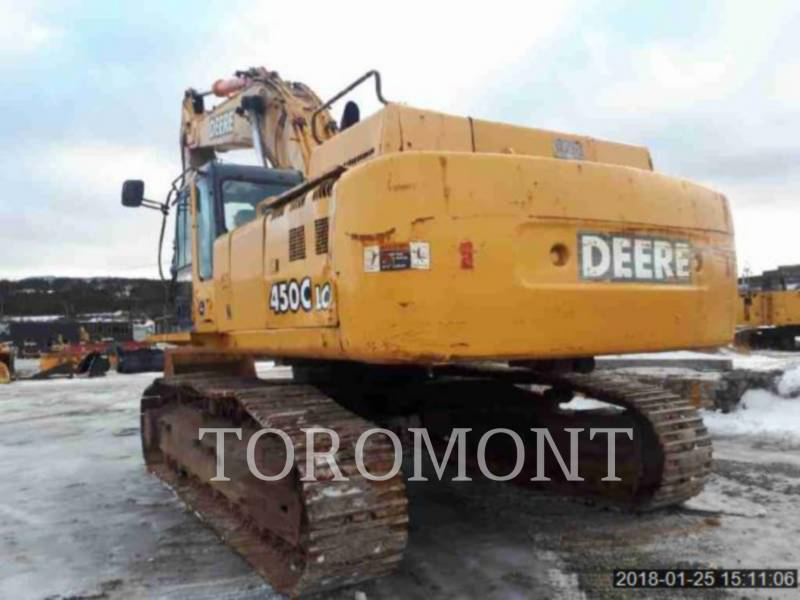 DEERE & CO. TRACK EXCAVATORS 450CLC equipment  photo 4