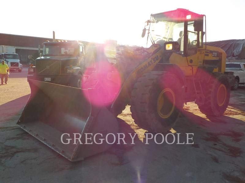 KOMATSU WHEEL LOADERS/INTEGRATED TOOLCARRIERS WA270-7 equipment  photo 3