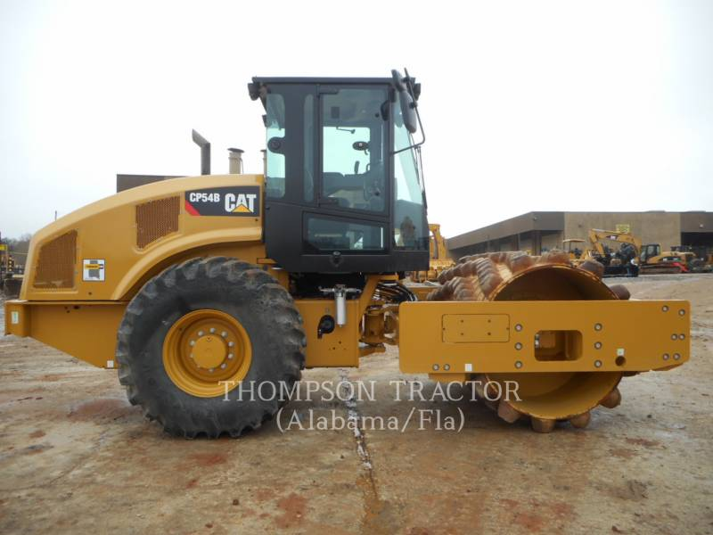 CATERPILLAR COMPACTEUR VIBRANT, MONOCYLINDRE À PIEDS DAMEURS CP54B equipment  photo 7