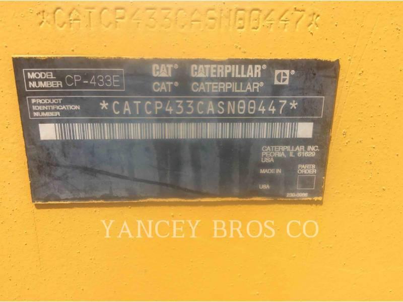 CATERPILLAR COMPATTATORI CP-433E equipment  photo 10
