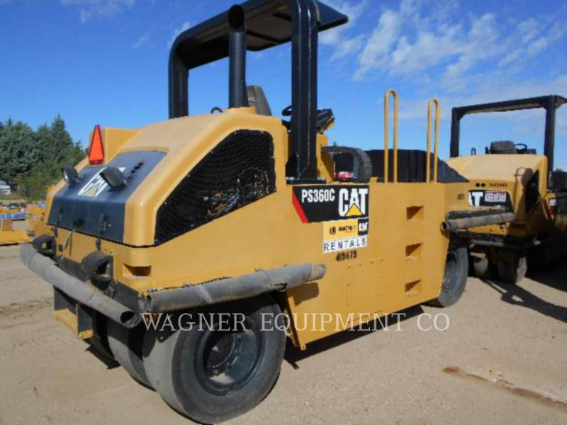 CATERPILLAR COMPACTADORES CON RUEDAS DE NEUMÁTICOS PS-360C equipment  photo 3