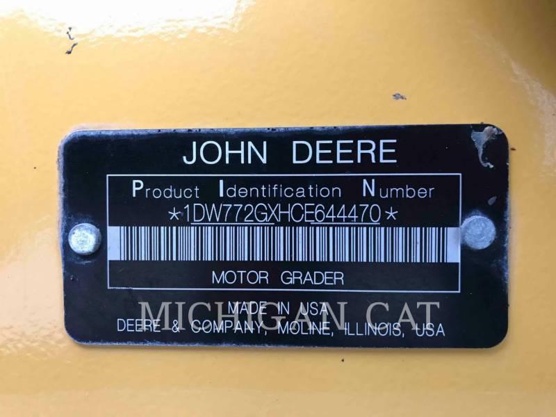 JOHN DEERE NIVELEUSES 772G equipment  photo 15