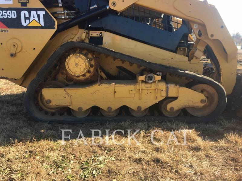 CATERPILLAR CARGADORES MULTITERRENO 259D C1H2 equipment  photo 14