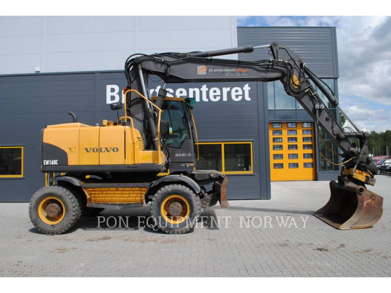 VOLVO CONSTRUCTION EQUIP BRASIL WHEEL EXCAVATORS EW 160 C equipment  photo 18