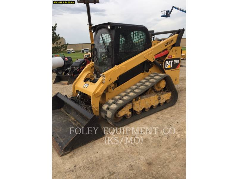 CATERPILLAR MULTI TERRAIN LOADERS 299DXPS2CA equipment  photo 1