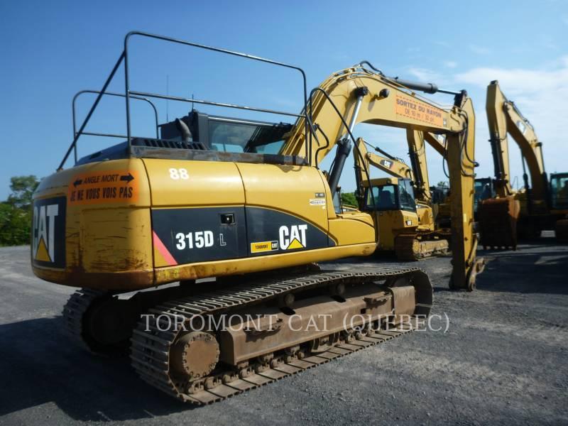 CATERPILLAR TRACK EXCAVATORS 315DL equipment  photo 4