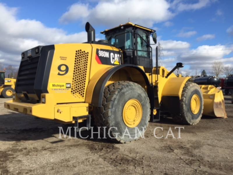 CATERPILLAR WHEEL LOADERS/INTEGRATED TOOLCARRIERS 980M 4F equipment  photo 3