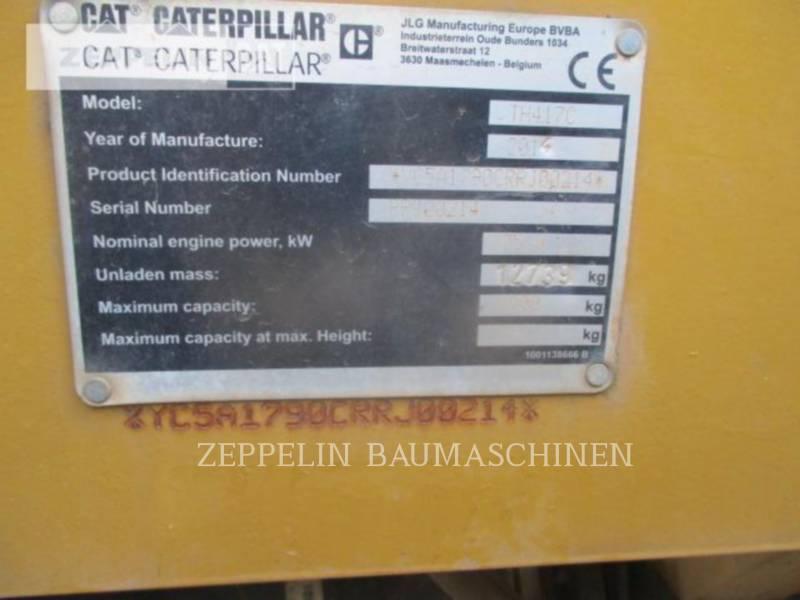 CATERPILLAR テレハンドラ TH417C equipment  photo 10