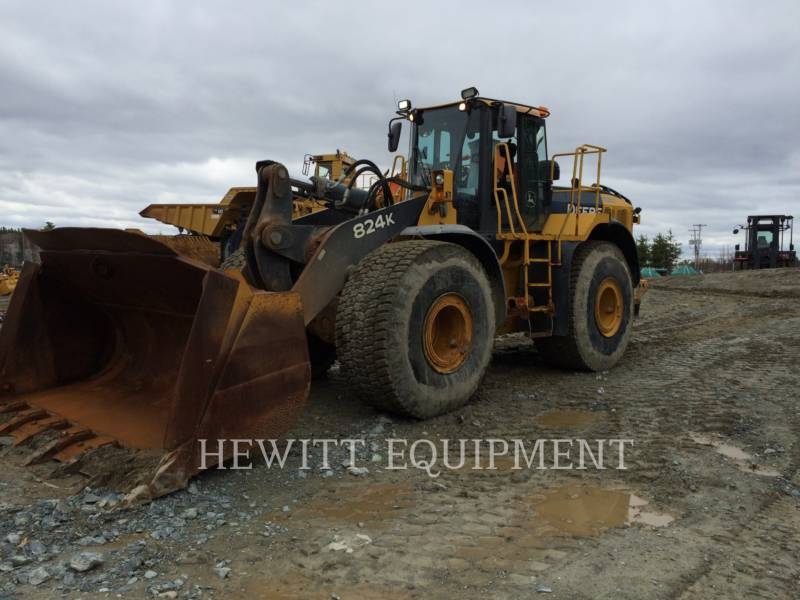 JOHN DEERE WHEEL LOADERS/INTEGRATED TOOLCARRIERS 824K equipment  photo 1