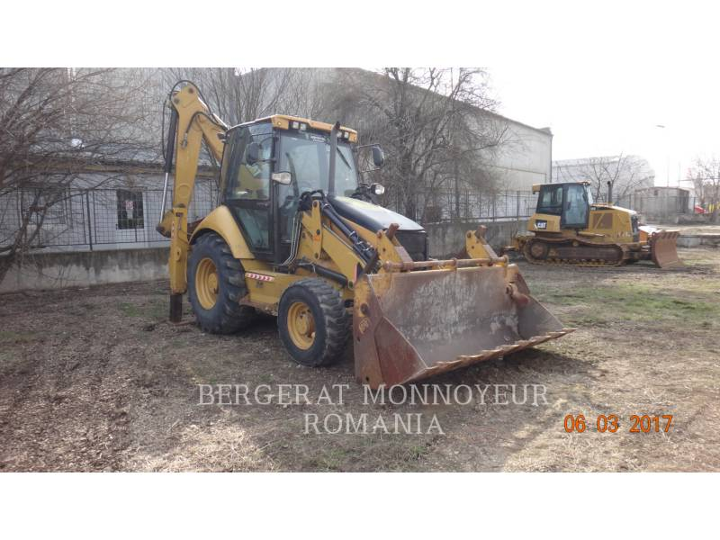 CATERPILLAR CHARGEUSES-PELLETEUSES 428E equipment  photo 2
