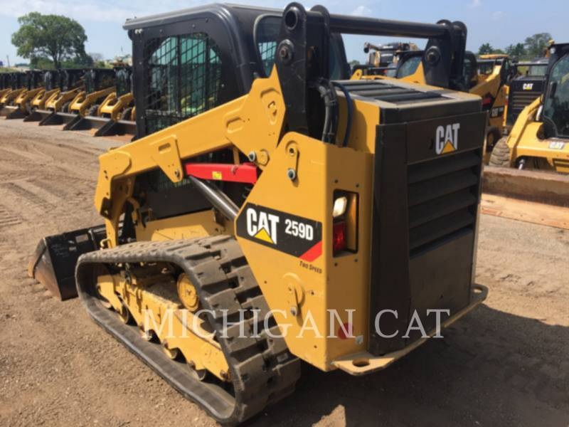 CATERPILLAR MULTI TERRAIN LOADERS 259D A2Q equipment  photo 3