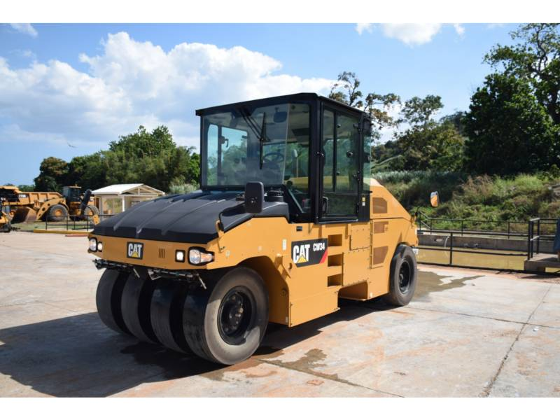 CATERPILLAR PNEUMATIC TIRED COMPACTORS CW 34 equipment  photo 1