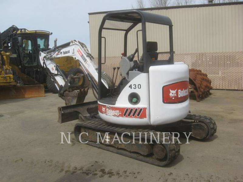 BOBCAT TRACK EXCAVATORS 430AG equipment  photo 4