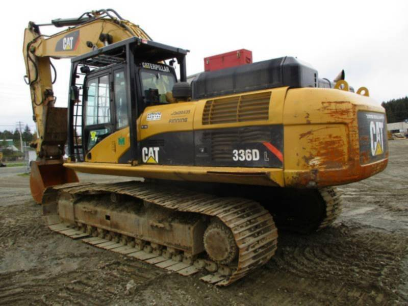 CATERPILLAR TRACK EXCAVATORS 336DL equipment  photo 3
