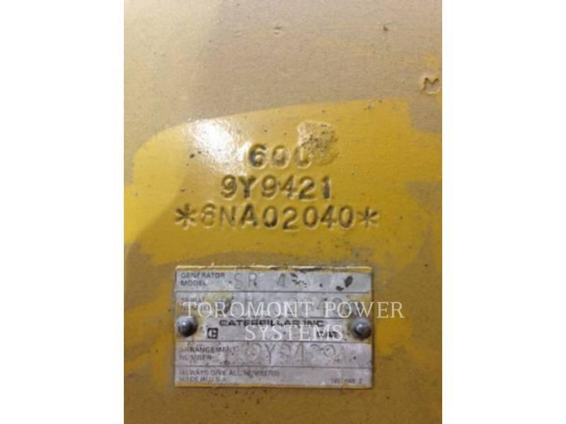 CATERPILLAR COMPOSANTS DE SYSTÈMES SR4 750KW 600V equipment  photo 4