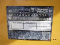 CATERPILLAR BAGGERLADER 420FST equipment  photo 14
