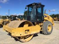 Equipment photo CATERPILLAR CS56B EINZELVIBRATIONSWALZE, GLATTBANDAGE 1