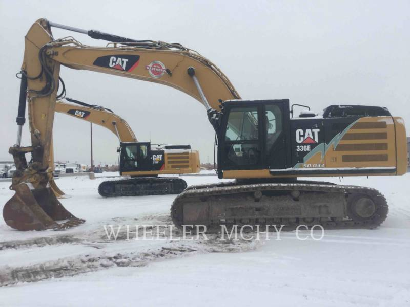 CATERPILLAR TRACK EXCAVATORS 336E L CFM equipment  photo 2