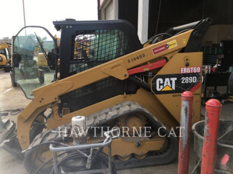 CATERPILLAR MINICARGADORAS 289D equipment  photo 6