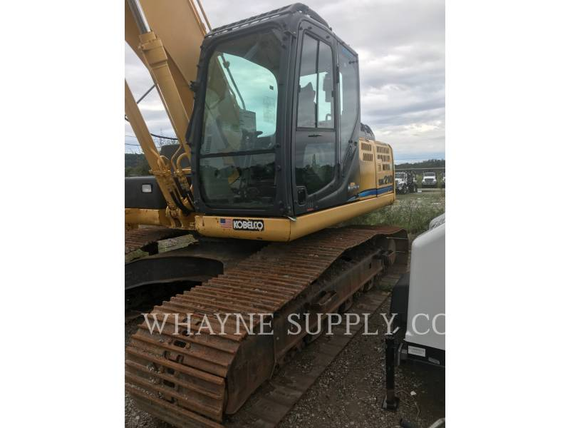 KOBELCO / KOBE STEEL LTD TRACK EXCAVATORS SK210-9 equipment  photo 2