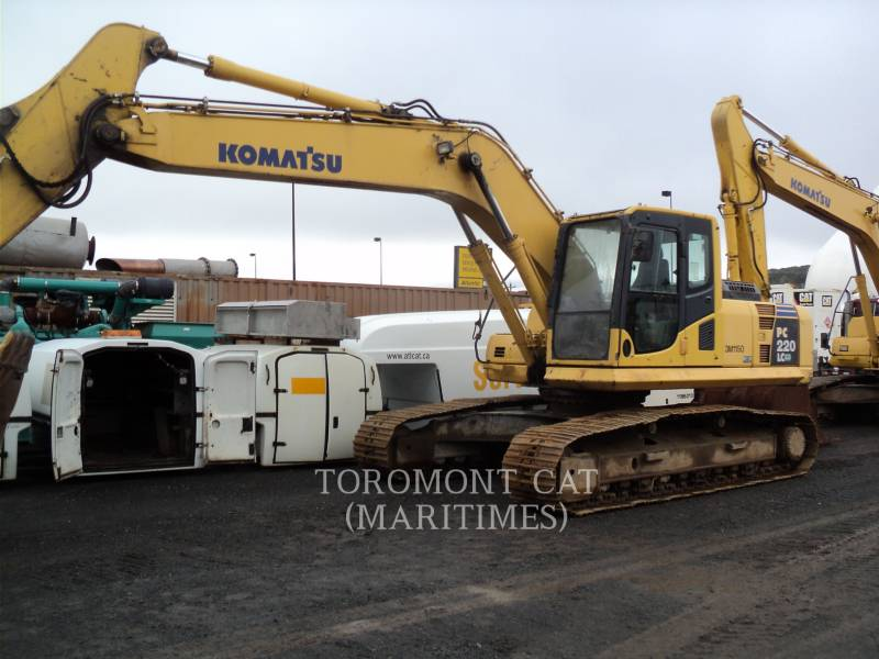 KOMATSU KOPARKI GĄSIENICOWE PC 220 LC-8 equipment  photo 3