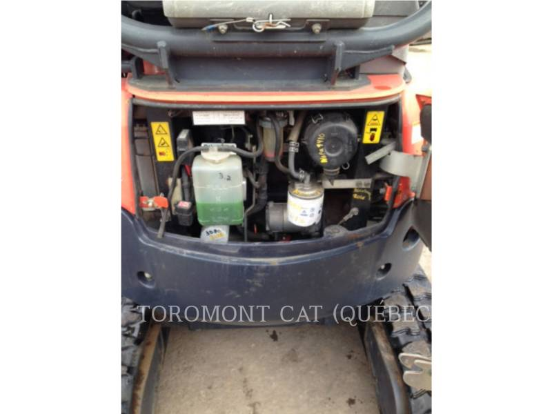 KUBOTA CORPORATION EXCAVADORAS DE CADENAS U17 equipment  photo 13