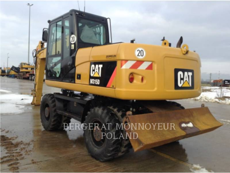CATERPILLAR MOBILBAGGER M315/D equipment  photo 7