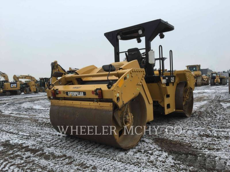 CATERPILLAR TANDEMOWY WALEC WIBRACYJNY DO ASFALTU (STAL-STAL) CB64 VV equipment  photo 4