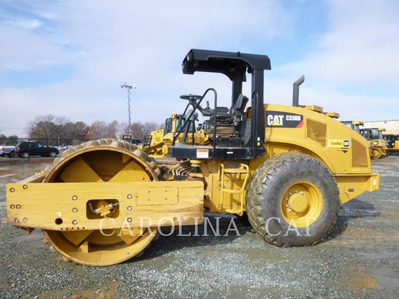 CATERPILLAR VIBRATORY TANDEM ROLLERS CS56B equipment  photo 1