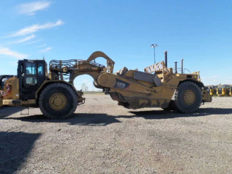CATERPILLAR WHEEL TRACTOR SCRAPERS 637G equipment  photo 2