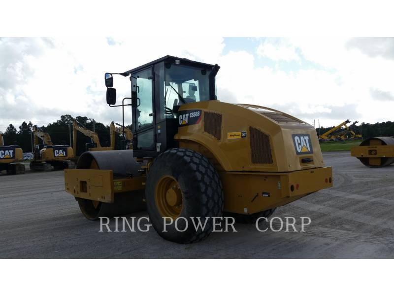 CATERPILLAR VIBRATORY DOUBLE DRUM ASPHALT CS66BCAB equipment  photo 4
