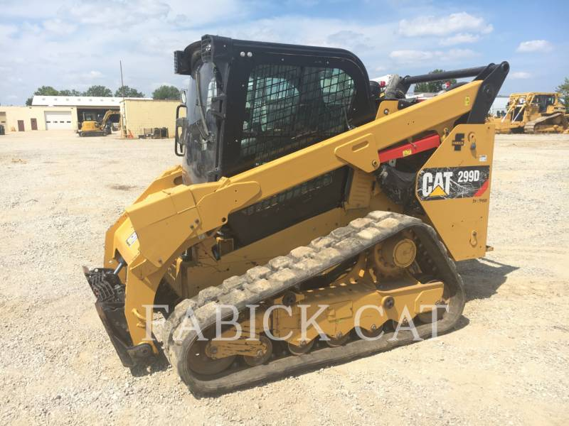 CATERPILLAR UNIWERSALNE ŁADOWARKI 299D2XHP equipment  photo 1