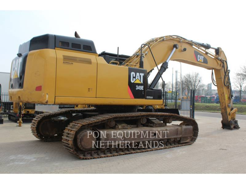 CATERPILLAR KETTEN-HYDRAULIKBAGGER 349 EL VG equipment  photo 4